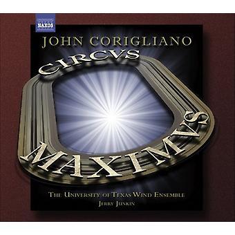 J. Corigliano - Corigliano: Circus Maximus; Gazebo Dances [CD] USA import