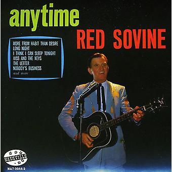 Röd köp - Anytime [CD] USA import