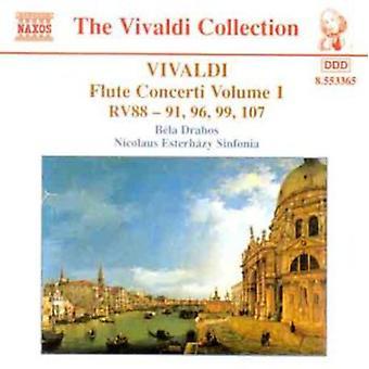 A. Vivaldi - Vivaldi: Huilu Concerti, Vol. 1 [CD] USA tuonti