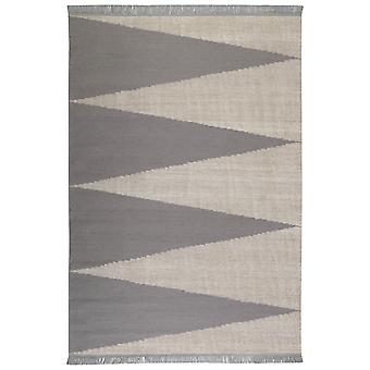 Smart Triangle Rugs 0002 03 By Carpets & Co In Grey And Ice Blule