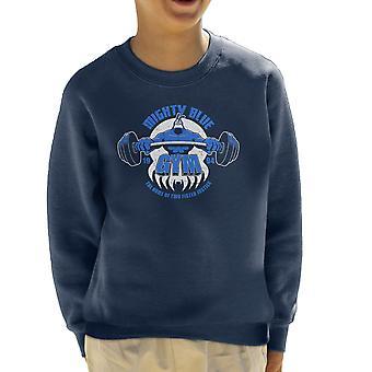Mighty Blue Gym The Tick Kid's Sweatshirt