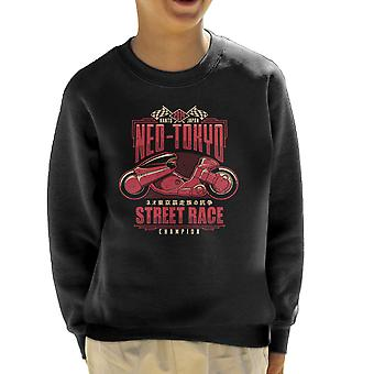 Neo Tokio Street Racing kampioen Akira Kid's Sweatshirt