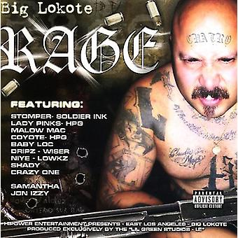 Big Lokote - Rage [CD] USA import