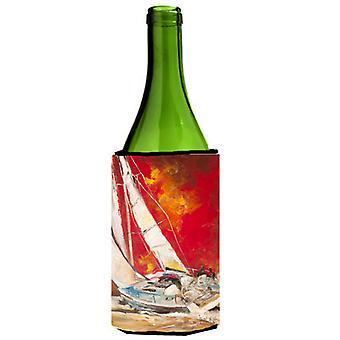 Velero rojo botella de vino bebidas aislador Hugger