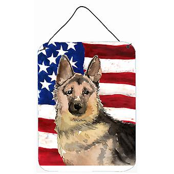 Deutscher Schäferhund patriotischen Wand oder Tür hängen Drucke