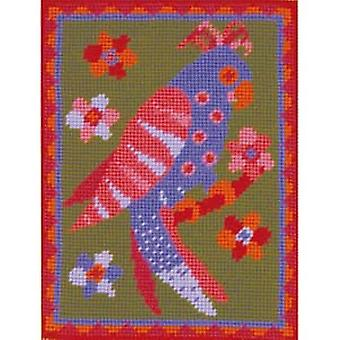 Poppy de Parrot Needlepoint Kit