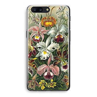 OnePlus 5 Transparant Case (Soft) - Haeckel Orchidae