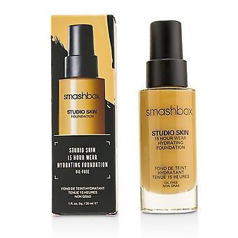 Smashbox Studio Skin 15 Hour Wear Hydrating Foundation - 2,25 USD (medio leggero con sottotono fresco e suggerimenti di pesca) - 30ml/1oz