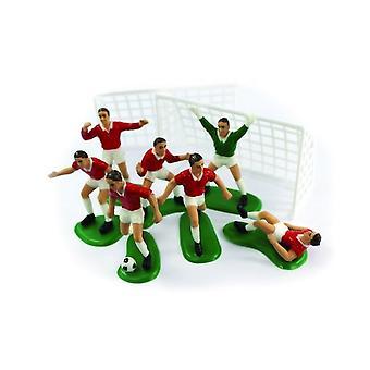 Creative Party Cake Topper Footballer Set