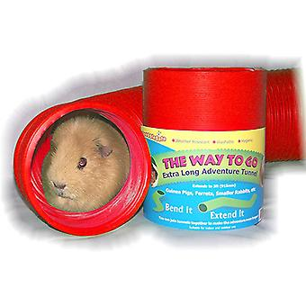 SnuggleSafe Way to Go Fun Tunnel Toy for rabbit, guinea pig, small animals