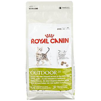 Royal Canin Cat Food buiten 30 droge Mix 2 kg