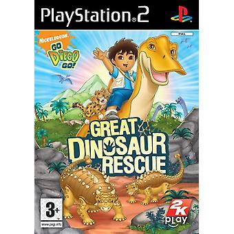 Hyvä Diego Go! Suuri dinosauruspelastus (PS2) - Uusi tehdas suljettu