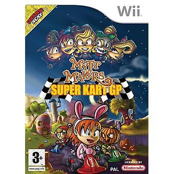 Myt Makers super kart GP (Wii)-fabriken förseglad
