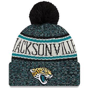 Новая эра НФЛ оттеснить 2018 Bobble Cap Jacksonville Jaguars