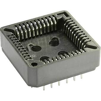 ECON connecter espacement de PLCC 52 PLCC socket Contact : 2,54 mm nombre de broches : 52 1 PC (s)
