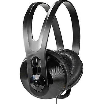 Vivanco SR 97 TV TV Over-ear headphones Over-the-ear Black