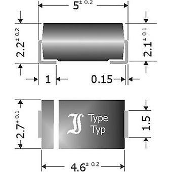 Diotec Schottky barrier rectifier SK34SMA DO 214AC 40 V 3 A