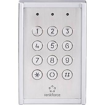 Renkforce 751624 Code lock Surface-mount IP65 + backlit keypad