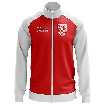 Хорватии концепции Футбол трек куртка (красный)
