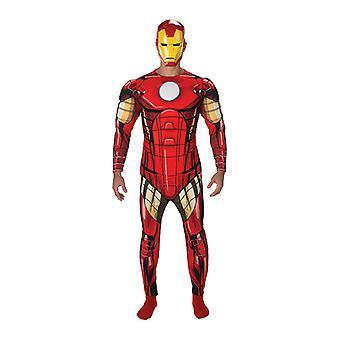 Jern mann Avengers montere Deluxe Ironman kostyme for menn