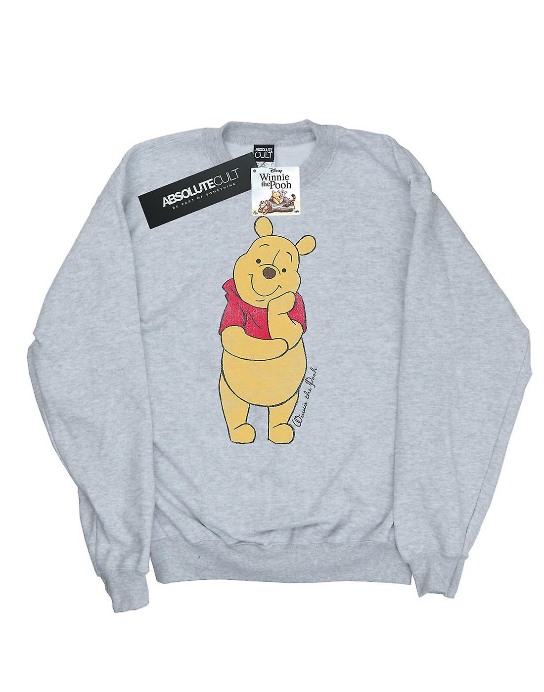 Disney Men's Winnie The Pooh Classic Pooh Sweatshirt
