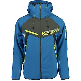 Geographical Norway men's Softshell jacket - TOSCOU blue