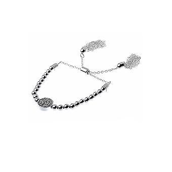 Brass Ball Stretch Bracelet