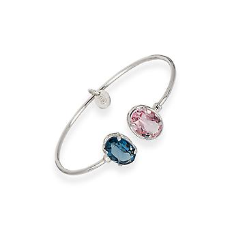 Multicolor bracelets with crystals from Swarovski 6304