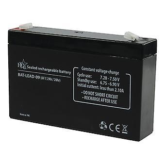 HQ Bat-lead-09 batterie au plomb 6 V 7.2 Ah