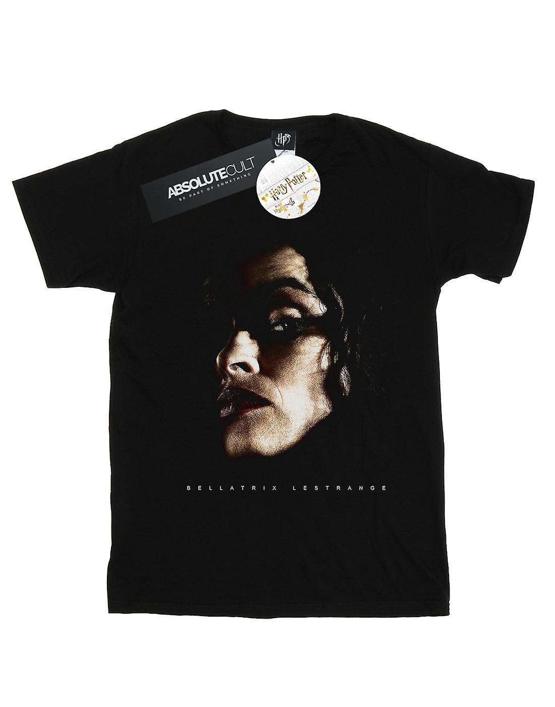 Harry Potter Women's Bellatrix Lestrange Portrait Boyfriend Fit T-Shirt