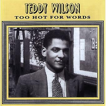 Wilson, Teddy/Holiday - Too Hot for Words [CD] USA import