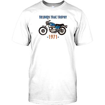 Triunfo TR6 Trophy - Bike británico clásico para hombre camiseta