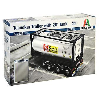 Italeri Tecnokar Trailer with 20' Tank