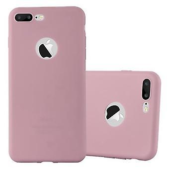 Cadorabo Hülle für Apple iPhone 8 PLUS / 7 PLUS / 7S PLUS Case Cover - Handyhülle aus flexiblem TPU Silikon – Silikonhülle Schutzhülle Ultra Slim Soft Back Cover Case Bumper