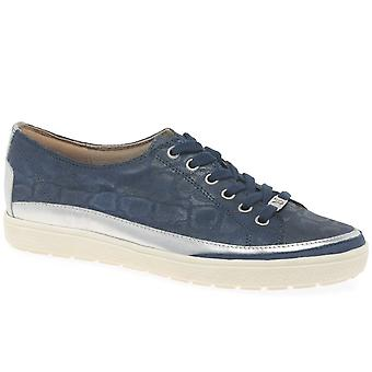 Caprice Star Womens Casual Lace Up Trainers