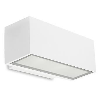 Afrodita vägg bricka ljus upp & ner små vita - lysdioder-C4 05-9911-14-CL