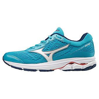 Mizuno Womens Wave Rider 22 chaussures route Mesh léger respirant haut