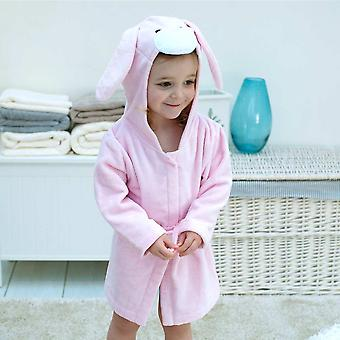 Rosebud Bunny toddler bath robe