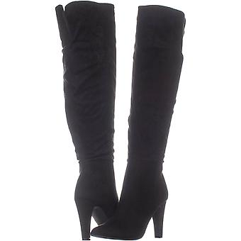 Material Girl Womens Candice a souligné Toe Knee High Fashion bottes