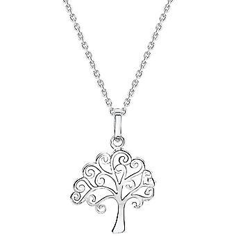 Bella Tree of Life Pendant - Silver
