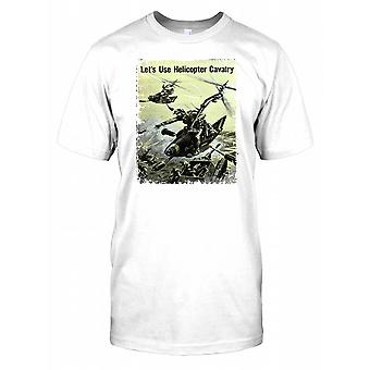 World War 2 Poster - Lets Use Helicopter Cavalry - War In The Pacific Mens T Shirt