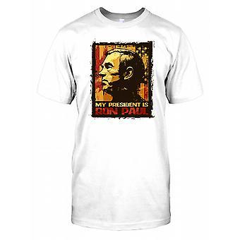 Min formand er Ron Paul børn T Shirt