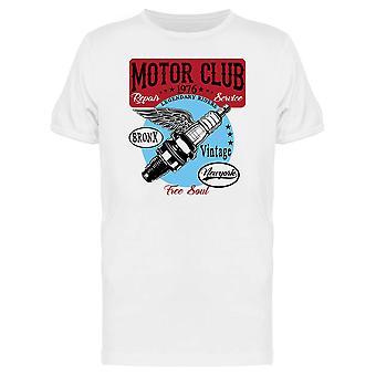 Motor Club Tee Men's -Image by Shutterstock