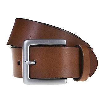 SAKLANI & FRIESE belts men's belts leather belt Brown 588