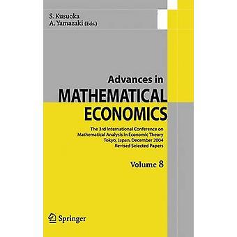 Fremskritt innen matematiske økonomi Volume 8 av Kusuoka & S.