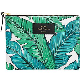 Wouf Tropical Zipped Large Pouch