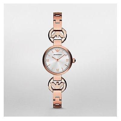 Emporio Armani Ar1776 Ladies Rose Gold Giannisteel Watch