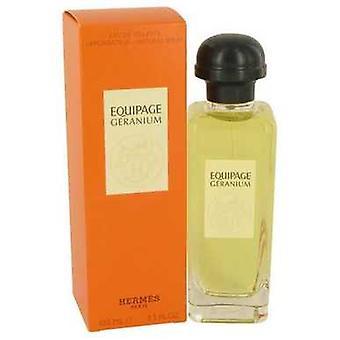 Equipage Geranium By Hermes Eau De Toilette Spray 3.3 Oz (women) V728-535111