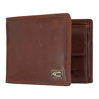 Camel active mens wallet wallet purse with RFID-chip protection Cognac 7321
