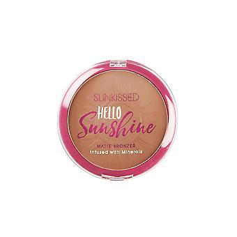 Sunkissed Hello Sunshine Matte Bronzer 21g Infused with Minerals